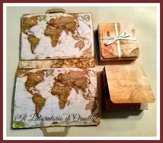 Auguri Matrimonio Tema Viaggio : Valigia tea box e busta auguri buon viaggio il