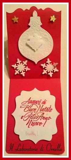 Interno biglietto/Card Natale